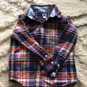 Janie And Jack button-down
